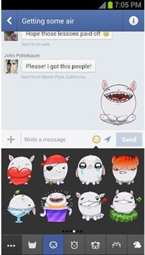 Stickers in Facebook Messenger [[Endgadget](http://www.engadget.com/2013/04/24/facebook-messenger-android-stickers/)]
